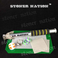 bho extraction - 10 Inch BHO Aluminum Extractor Kit Butane Honey Oil Hash Wax Dab Dank Dabs Tube Extraction