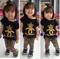 Cheap Children Outfits Best Kids Leopard legging