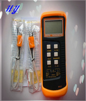 software retail wholesale - Direct new software digital thermometer DT6802 dual channel and retail