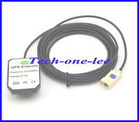 gps antenna cable - 1575 Mhz GPS Antenna White Fakra B Connector Aerial with M Cable