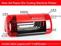 Wholesale New A4 Paper Die Cutting Machine Plotter model label papercraft Vinyl Cutter free shiping