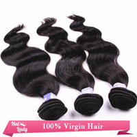 Wholesale 8 Inches Indian Virgin Hair Weft Human Extension Grade A Great Length Hair Weaves Natural Color B Body Wave Unprocessed Hair