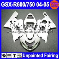 Precio de Suzuki gsxr750 fairing-7Gifts sin pintar completo kit del carenado para SUZUKI GSX-R600 GSX-R750 04-05 GSXR600 GSXR750 GSXR 600 K4 750 04 05 2004 2005 carenados Carrocería Cuerpo