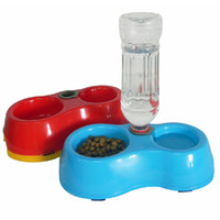 Cheap Free Shipping Pet Dog Cat Puppy Automatic Water Dispenser Food Dish Bowl Feeder Y940