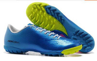 Wholesale New Soccer training shoes Men Training shoes Indoor soccer shoes