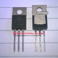 Wholesale 2SC1971 C1971 RF POWER Transistor Disassemble authentic Tested