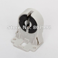 Cheap Safe shipping,T8 Fluorescent Light Socket Lamp AC100-250V 50 60Hz Plastic Holder suitable for T8 LED bracket lamp