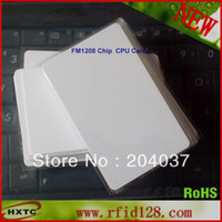 Wholesale 20pcs K x bit ROM FM1208 Chip Blank CPU Card ISO A Non Contact No COS