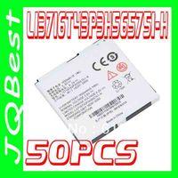 Wholesale 50pcs High quality Li3716T43P3h565751 H Li3717T43P3H565751 Battery For ZTE cell Phone N860 N WARP N910 ANTHEM G METRO