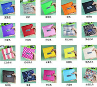 Wholesale New Fashion Foldable Waterproof Storage Eco Reusable Shopping Tote Bags Quality shopping bag pouch colors