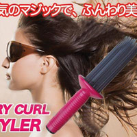 Wholesale TV HOT SALE Hair Beauty DIY hair curling hair comb easily used airy curl styler