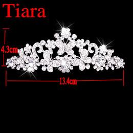 Wholesale Luxury Crystal Tiara for Wedding Elegant Bling Tiaras Accessories Bridal Accessories