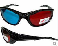 Wholesale 30 Red Blue D Glasses For Video DVD Movie Game movies
