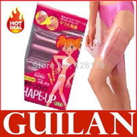 Wholesale pack Sauna Slimming Belt Burn Cellulite Fat Body Wraps Leg Thigh Weight Loss Shaper