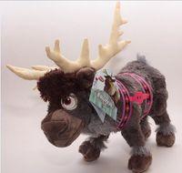 Wholesale 2014 New cm SVEN frozen doll SVEN baby dolls action figures plush toy Deer for kids