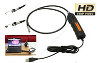 Wholesale The First HD P Mega Pixels USB Endoscope night vision waterproof Borescope Inspection Snake Camera