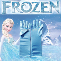Wholesale Frozen Gloves Elsa Gloves For Evening Dress Wedding Party Gloves For Children Girls Cartoons Christmas Mittens Decoracao Frozen