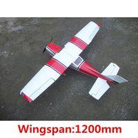 Wholesale DIY Balsa Wood Cessna rc airplane rc plane rc glider aircraft remote control electronic toys balsa plane