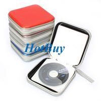 cd storage box - 40 Discs Album CD DVD VCD Storage Organizer Holder Case Bag Box Colors