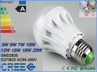 24v e27 led - 1X Discount Global led warm white and White bulb E27 B22 SMD2835 w w w W W W W W V V Dimmable led ball bulb