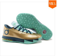 Hight Cut Men Winter Mens Basketball Shoes Comfortable KD 6 Shoe Athletic Sneaker Kevins Durants VI kd 6 what the kd vi KDS KD6 aunt pearl Gold basketball shoes