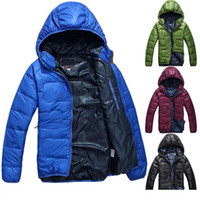 Wholesale New Outdoor Winter Warm Mens Down Jackets Feather Rong Winter Coat