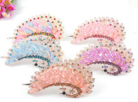 Wholesale In the spring of the new Delicate butterfly duckbill clip Set auger dish hair products Headdress Hair Clips Barrettes