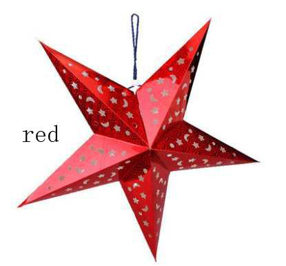 60cm star christmas ornaments 3d laser hollow christmas for 3d star decoration