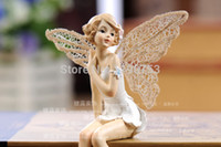 Wholesale flower elf Fairies European resin Home Furnishing Decor furnishings aesthetic character shelf decoration beautiful