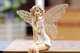 Wholesale flower elf Fairies European resin Home Furnishing Decor furnishings aesthetic character shelf decoration beautiful
