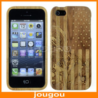 Cheap Brand New Arrive 2014 Accessories Case For iPhone 5S 5G 5 Wooden Style Cover Free Shipping Mobile Phone Bags&Cases
