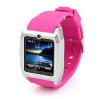 "Cheap 2014 New 1.54"" Tounch Screen Mobile Phone Brand Bluethooth Cell Phone Candy Color Wrist Watch Smart Phone"