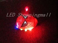 Wholesale 48 Spider man Spinning Top with light and music LED Flashing Beyblade Classic toy gifts for kids