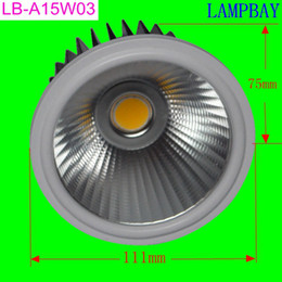 Wholesale LED AR111 W BULB with reflector COB high quality replace to W