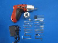 Wholesale New KLOM OBD2 Cordless Electric Lock Pick Gun Door Lock Opener Locksmith Tools Lock Pick Set S052