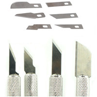 Wholesale 7 in Multi function Scrapbooking Model Hobby Crafts Carving Knife Tools Set