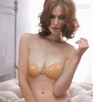 Wholesale Invisible Bras Silicon Bra Size A B C D Cup Mix Free Shpping B11