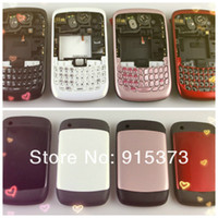 Wholesale Replacement Complete Full Housing Cover Case for Blackberry Curve BB8520 Vary Colored DHL