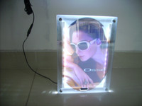 Wholesale Magic Mirror Crystal Advertising Led Light Box mmx600mm Magic Mirror LightBOX