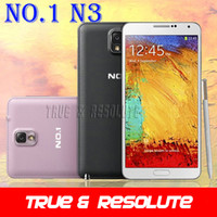 "Cheap Original 1:1 N9000 NO.1 N3 Note 3 Android 4.2 MTK6589T Quad Core Cell Phone 5.7"" 1GB RAM 8GB ROM 13.0MP Camera Dual Sim 3G WCDMA"