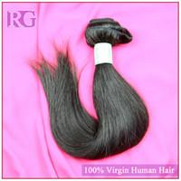 Wholesale Indian virgin Hair Straight Natural Color piece virgin hair Unprocessed Human Hair Weaves Regina Hair Products