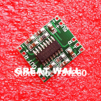 amplifier module - PAM8403 module Super mini digital amplifier board W Class D digital amplifier board efficient to V USB power supply