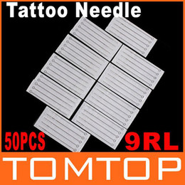 Wholesale 50 Disposable Round Liner Sterilized Tattoo Machine Needles RL Dropshipping