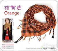 Wholesale Tassel Square Scarf For Women Size colors Cotton Linen S5