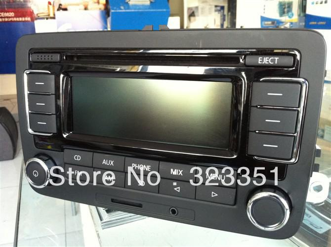 vw volkswagen factory original oem car radio rcn210 cd mp3 player unused new passat golf 5 6. Black Bedroom Furniture Sets. Home Design Ideas
