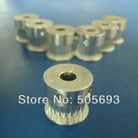 Cheap EMS free shipping GT2 Timing Pulley 20 teeth Width 6mm,total height is14mm, Sell by package for 3D printer 50pcs lot