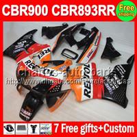 7gifts For HONDA CBR900RR CBR893RR 89- 97 CBR893 RR Repsol C#...