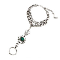 Wholesale New arrive fashion jewelry pearl flower chain bracelet Rings Braclets