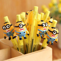 Wholesale NEW Despicable Me Minion cartoon ballpoint styles school things Despicable Me stationery Despicable Me Pen