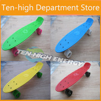 Cheap Fedex Freeshipping (5pc lot) ! mini cruiser plastic skateboard,Penny Skateboards Nickel Complete Skateboard